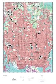 Map Of St Petersburg Florida by Mytopo Saint Petersburg Florida Usgs Quad Topo Map
