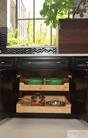 best images about kitchen designs cabinets galore easily access the deepest parts your cabinets with kraftmaid roll out trays