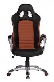 Esszimmerst Le Leder Optik Finebuy Bürostuhl Racing Caramel Gaming Chefsessel Racer Drehstuhl