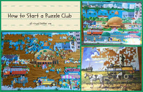 how to start a puzzle club all round better me