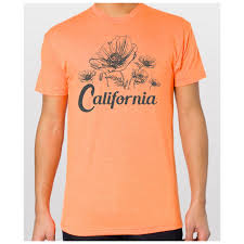 unisex california poppy flower t shirt u2013 driftwoods clothing