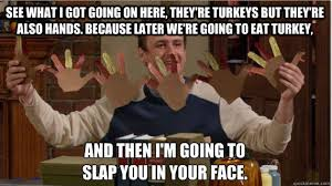 the funniest memes for thanksgiving 2012