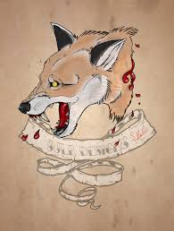 fox head tattoo by mcrmorbid on deviantart