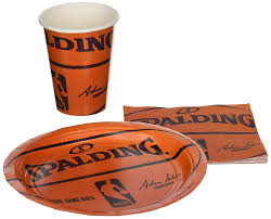 basketball party supplies spalding basketball party supplies pack including