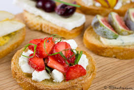 canapes fruit cheese canapes stasty