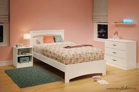 Twin White Bedroom Set - amazon com south shore libra twin bed set 39 inch pure white