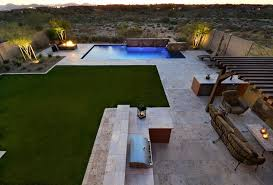 Pretty Backyards Beautiful Backyards Look Phoenix Modern Landscape Remodeling Ideas