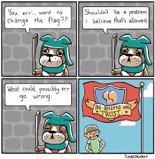 Video Game Flags Changing Of The Flag A Video Games Comic Dueling Analogs