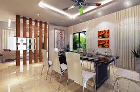 Partition Designs Between Living Dining