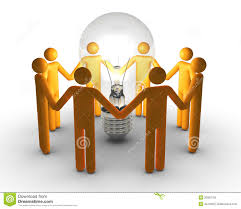 team work for ideas stock photography image 20092752