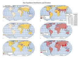 Population Density World Map by Population Density Over Time History Class Pinterest