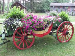 best 25 garden wagon ideas on pinterest wagon wheel garden