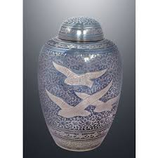 cheap urns india new domtop black cremation urn with engraved floral design