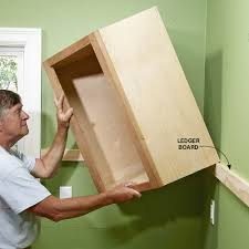Building Kitchen Base Cabinets Install Cabinets Like A Pro Kitchen Wall Cabinets Upper