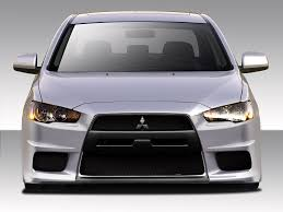 2014 Mitsubishi Lancer Evolution X Amazon Com 2008 2017 Mitsubishi Lancer Duraflex Evo X V3 Body Kit
