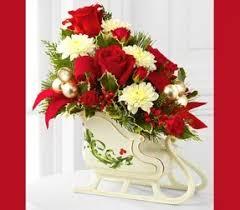 christmas floral arrangements artificial christmas centerpieces foter