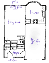 How To Draw A Floor Plan Our Living Room