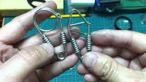 steel key rings images Ms074 stainless steel noose key chain jpg