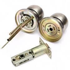 Bathroom Door Key by Bathroom Door Lock Stainless Steel Cylinder Round Knob Door Handle