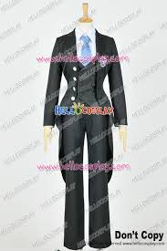 Black Butler Halloween Costumes Black Butler Cosplay Ciel Phantomhive Costume Weston Uniform