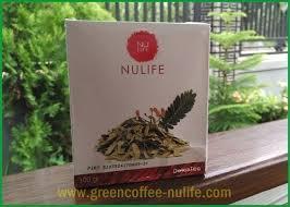 Teh Detox nulife detox tea minuman herbal menurunkan kolesterol dan berat badan