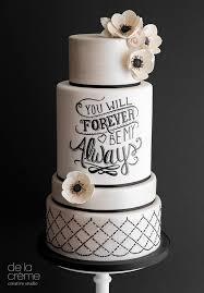 contemporary wedding cakes amazing contemporary wedding cakes by de la créme creative studio