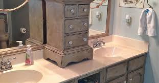 Repaint Bathroom Vanity by Bathroom Vanity Makeover With Annie Sloan Chalk Paint Hometalk