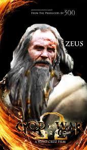 film god of war vs zeus god of war movie concept digital fan art zeus by instanino43 on