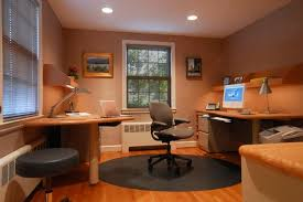 Cool Home Office Ideas by Cool Office Shelves Simple Classic Office Desk With Seamless