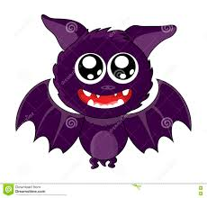 cute halloween background purple halloween cute smile bat silhouette vector symbol icon design