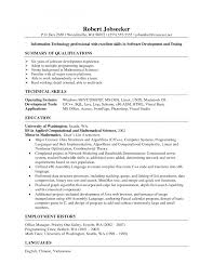 resume cv website academic profile sample perfect professional