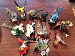 the danbury mint songbird ornaments 12 birds what s it