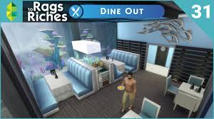 The Sims 2 Kitchen And Bath Interior Design The Sims 4 Dine Out Rags To Riches Part 31 Youtube