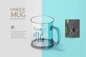 glass mug animated mockup by rebrandy thehungryjpeg com