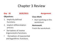 first day of day 1 8 19 2013 assignment objectives ppt