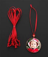 10 pack festive ribbon decoration ornament hangers