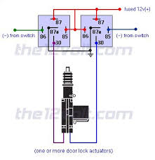 wire diagram negative door trigger with double trigger relay
