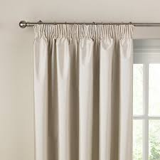 Thermal Pinch Pleat Drapes Buy Faux Silk Coated Thermal Blackout Pencil Pleat Curtains Online