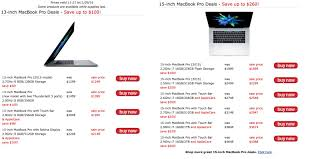 macbook black friday your best black friday macbook pro w touch bar discounts are with