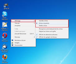 application bureau windows 7 windows modifier la taille des icônes sur le bureau clubic