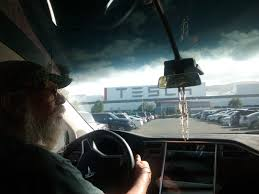 tesla windshield tesla factory a shrine earthly religion