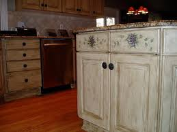 How To Distress Kitchen Cabinets by Kitchen Design 20 Ideas Old Antique Kitchen Cabinets Cream