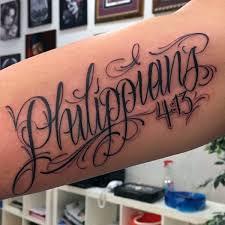 50 bible verse tattoos for scripture design ideas