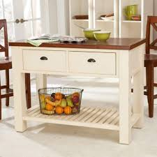 small kitchen island with seating rectangle teak wood stained