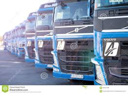 volvo truck bus volvo trucks editorial stock photo image 58220768