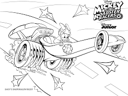 daisy coloring page mickey and the roadster racers coloring pages getcoloringpages com