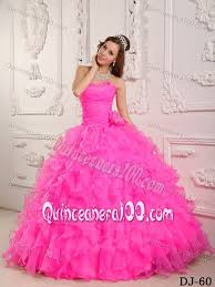 sweet fifteen dresses amazing sweetheart hot pink sweet 15 dresses with ruffled layers