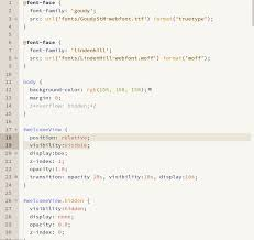 colored writing paper pen paper coffee syntax css screenshot