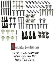 1981 Camaro Interior 1979 1981 Camaro Interior Kit For Hard Top Models