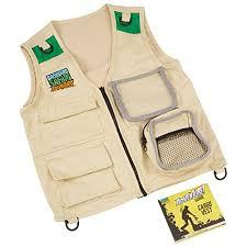 Backyard Safari Toys Backyard Safari Cargo Vest U2013 Stem Learning Toys